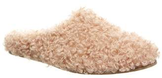 BearPaw Tribeca Faux Lamb Hair & Genuine Sheepskin Footbed Slipper