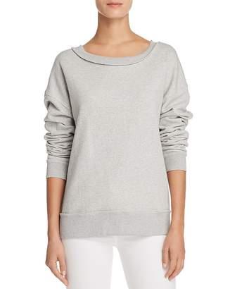 Joe's Jeans Piya Shredded Sweatshirt