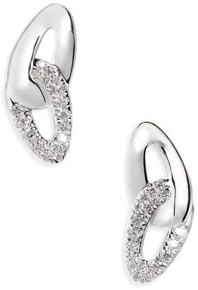 Ippolita Cherish Link Diamond Stud Earrings