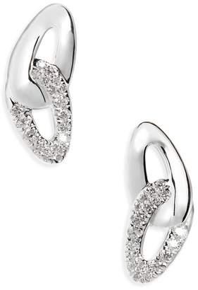 Ippolita Cherish Link Diamond Stud Earrings - 0.21 ctw