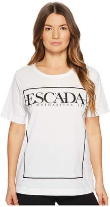 Escada Sport Enoelle Screen Logo Tee