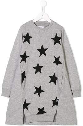 Nununu star print dress