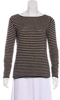 Massimo Alba Rib Knit Cashmere Top