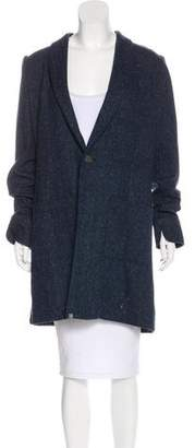 BOSWELL Speckled Shawl Coat