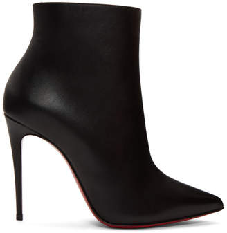 Christian Louboutin Black So Kate Ankle Boots
