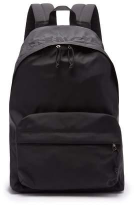 Balenciaga Wheel Logo Top Nylon Backpack - Mens - Black