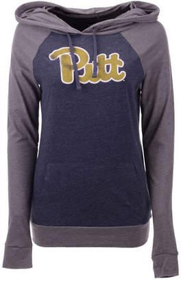 5th & Ocean Women's Pittsburgh Panthers Big Logo Raglan Hooded Sweatshirt
