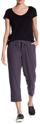 Susina Linen Blend Cropped Pants (Regular & Petite)