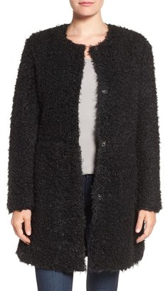 Women's Via Spiga Reversible Faux Fur Coat $210 thestylecure.com