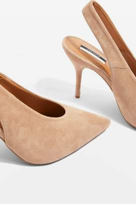 Topshop Gail Slingback Heeled Shoes