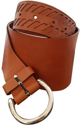 Façonnable Brown Leather Belts