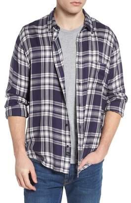 Rails Lennox Slim Fit Plaid Sport Shirt