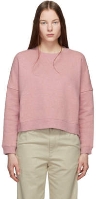 YMC Pink Almost Grown Sweatshirt