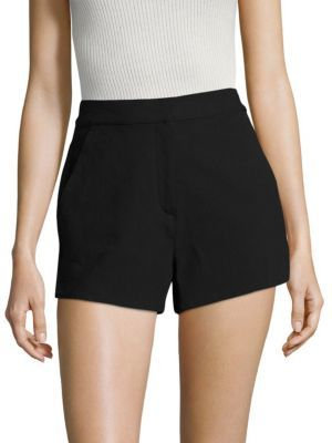 Rag & Bone Carson High-Waist Shorts $295 thestylecure.com