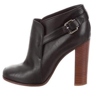 Celine Square-Toe Ankle Boots