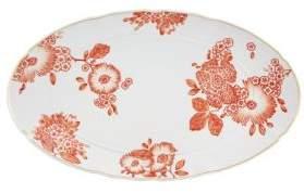 Oscar De La Renta by Vista Alegre Floral Print Porcelain Platter