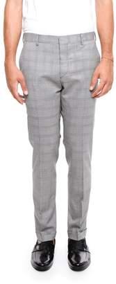 Prada Stretch Wool And Silk Trousers
