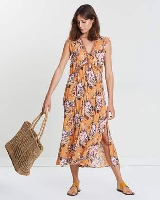 Bijoux Petite Frill Midi Dress