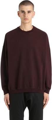 Yeezy Crewneck Cotton Sweatshirt