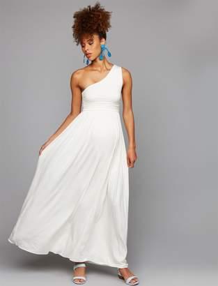 Rachel Pally One Shoulder Maternity Dress