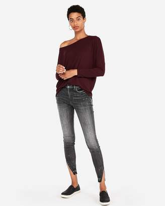 0bcccd5f2 Express Off The Shoulder Top - ShopStyle