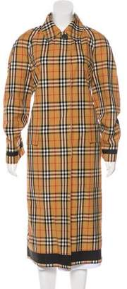 Burberry House Check Reversible Coat