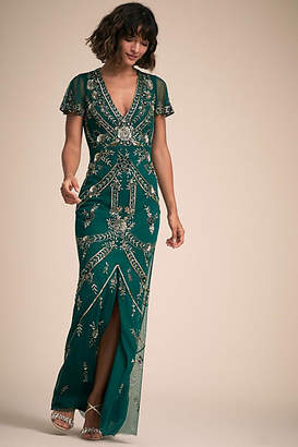 Anthropologie Fatima Wedding Guest Dress