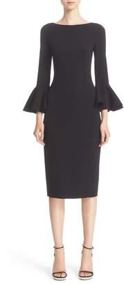 Michael Kors Bell Sleeve Sheath Dress