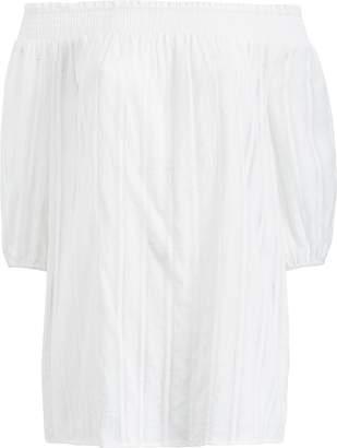 Ralph Lauren Smocked Cotton Tunic