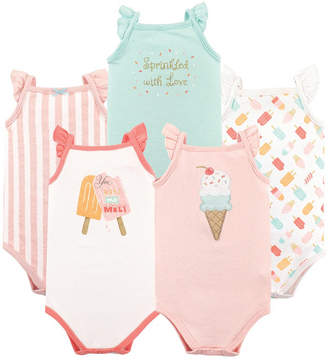 Baby Vision Hudson Baby Sleeveless Bodysuits, 5-Pack, 0-24 Months