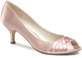 House of Fraser Paradox London Pink Romantic Peep Toe Shoes