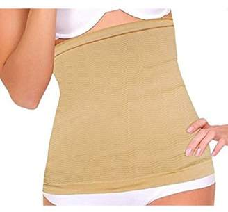 PureAid Breathable Elastic Body Shaper Waist Trainer Slimming Belt For Women
