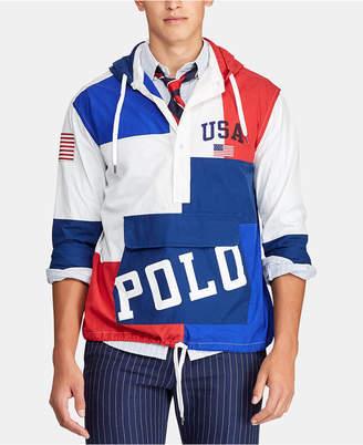 Polo Ralph Lauren Men Chariots Custom-Fit Hooded Popover