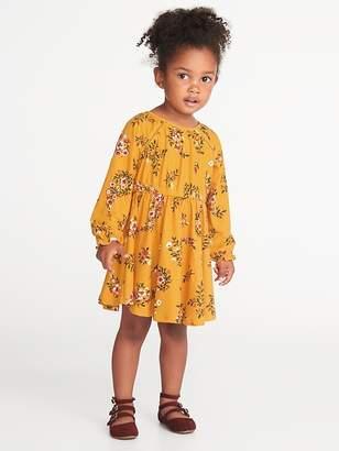 Old Navy Fit & Flare Floral Dress for Toddler Girls