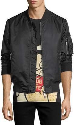 Eleven Paris AC/DC Nylon Bomber Jacket