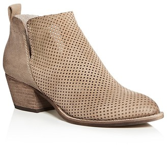 Dolce Vita Sonya Perforated Mid Heel Booties $140 thestylecure.com