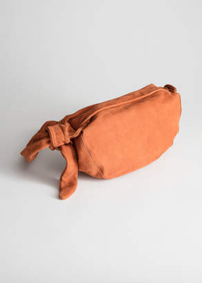 And other stories Side Knot Half Moon Bag