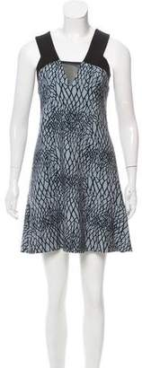 Rebecca Vallance Sleeveless Printed Mini Dress