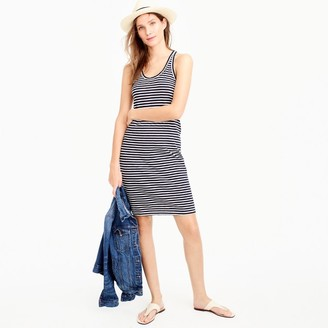 Racerback tank dress in stripe $59.50 thestylecure.com