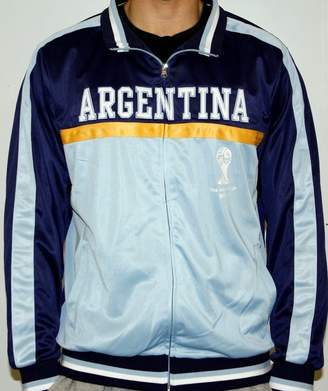 Fifth Sun Argentina FIFA 2014 World Cup Soccer Embroidered Track Jacket