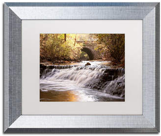 "Avon Jason Shaffer 'Avon Falls' Matted Framed Art - 14"" x 11"""