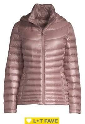 Calvin Klein Plus Short Packable Puffer Coat