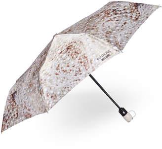 Moschino Auto Open Pearl Print Umbrella