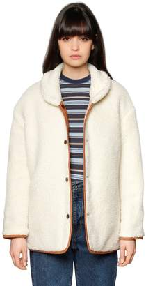 Levi's Quilted & Faux Shearling Jacket