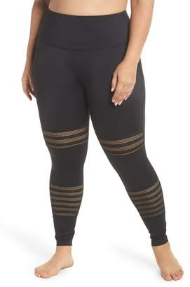 Beyond Yoga Mesh to Impress High Waist Leggings