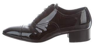 Chanel Patent Leather Oxfords