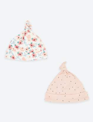 Marks and Spencer 2 Pack Cotton Hats