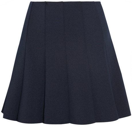 Camilla And Marc Pleated jersey mini skirt