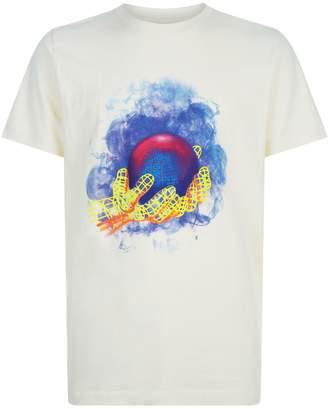 Off-White Off White Graphic World Hand T-Shirt