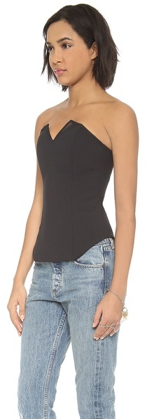 Camilla And Marc Typeface Bustier Top